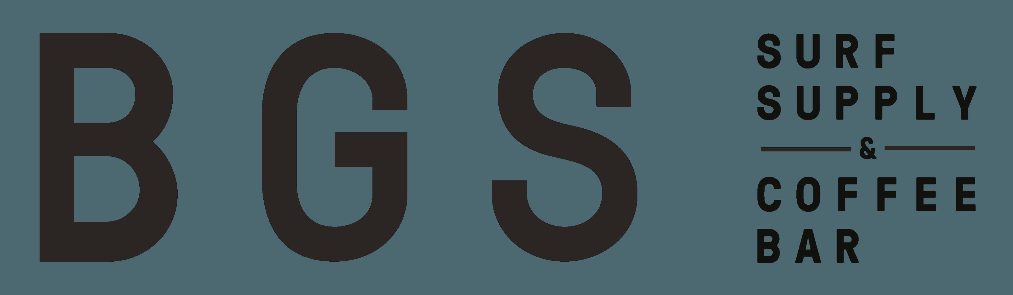 logo bgs bali surf supply and coffee bar